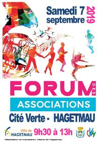 Affiche Forum des associations 2019